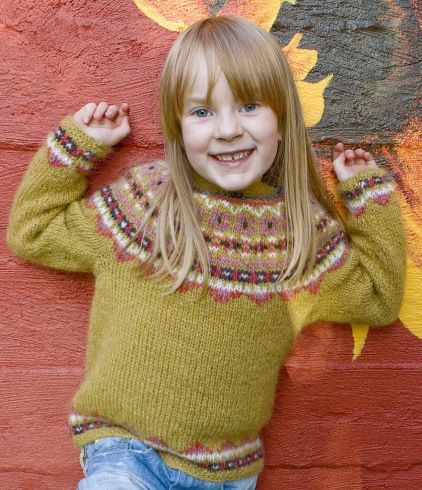 Fimma lopapeysa Icelandic lopi sweater free   Punto   Pinterest ...
