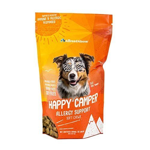 A Breed Above Happy Camper Allergy Support 90 Count We