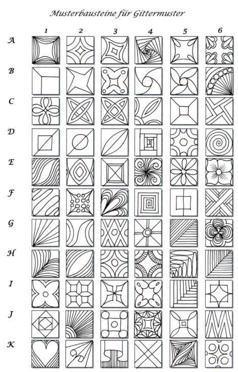 Eine Interessante Musterwahllösung Für Gittermuster Zeichnen