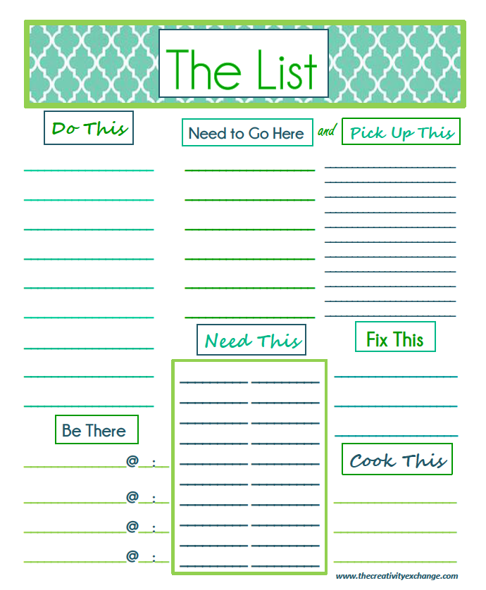 Printable Office Supply List Fun Fact About Yours Truly Organization Makes Me Happy This Doesn .