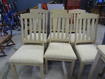 Captivating Table And Six Chairs. Camp LejeuneYard SaleNorth CarolinaGarage