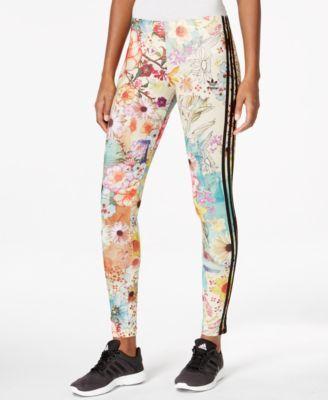 2b022dec791 adidas Originals Printed Leggings - Pants & Capris - Women - Macy's ...