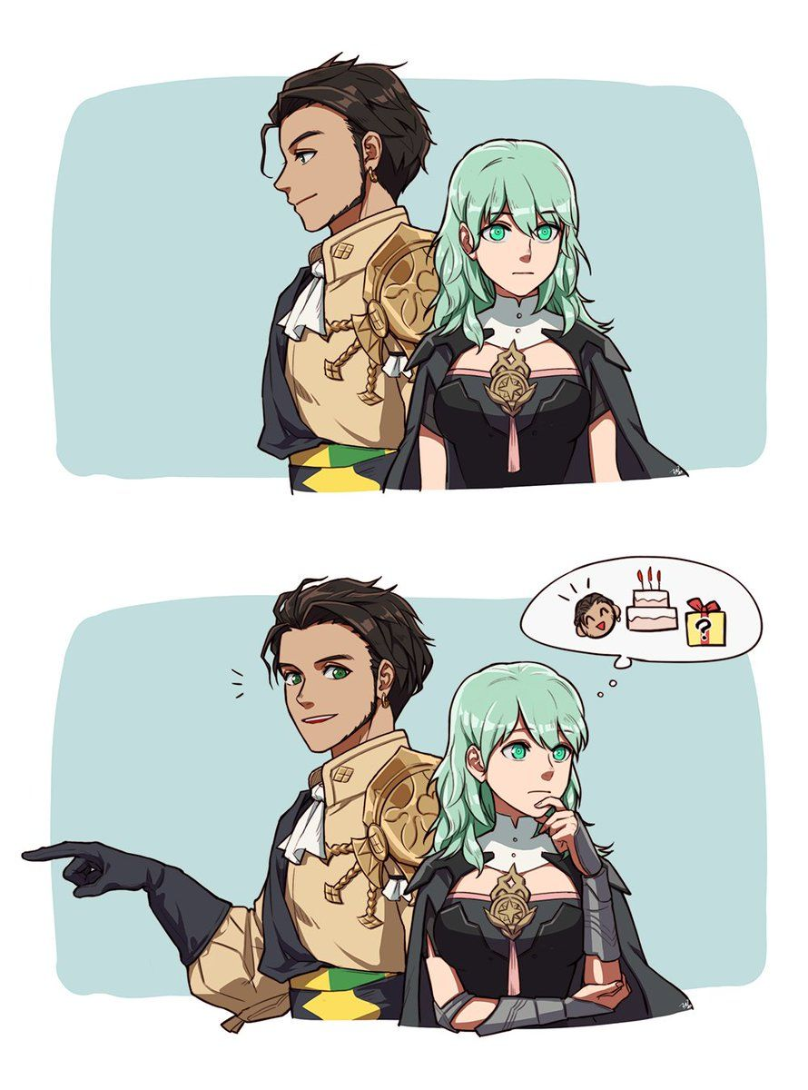 Claude x Byleth from Fire Emblem: Three Houses (1/