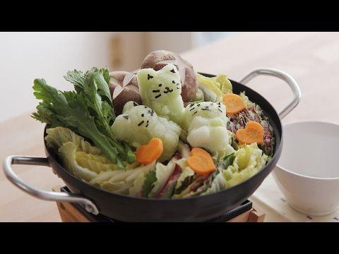 4k Mille Feuille Nabe Japanese Style Hot Pot Honeykki Youtube 식품 아이디어 음식 요리법