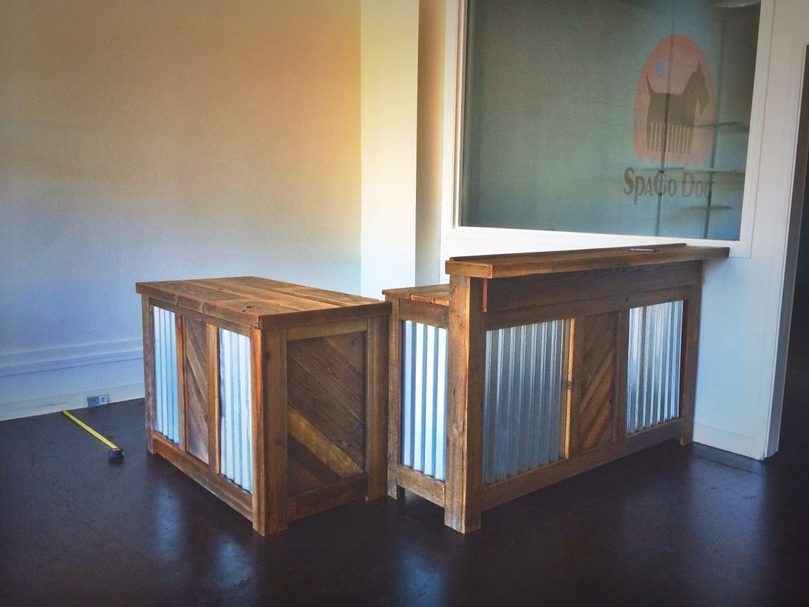 Custom Counters For Spago Dog In Oakland Ca By Urban Mining Co The Sf Bay Area Reclaimed Wood Woodwork Rustic Handmade Diy Counter Fixtures