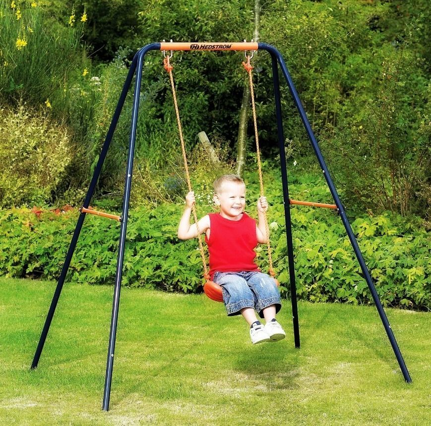 Perfect #Outdoor #Children #Swing #Patio #Single #Blow #Moulded #Seat