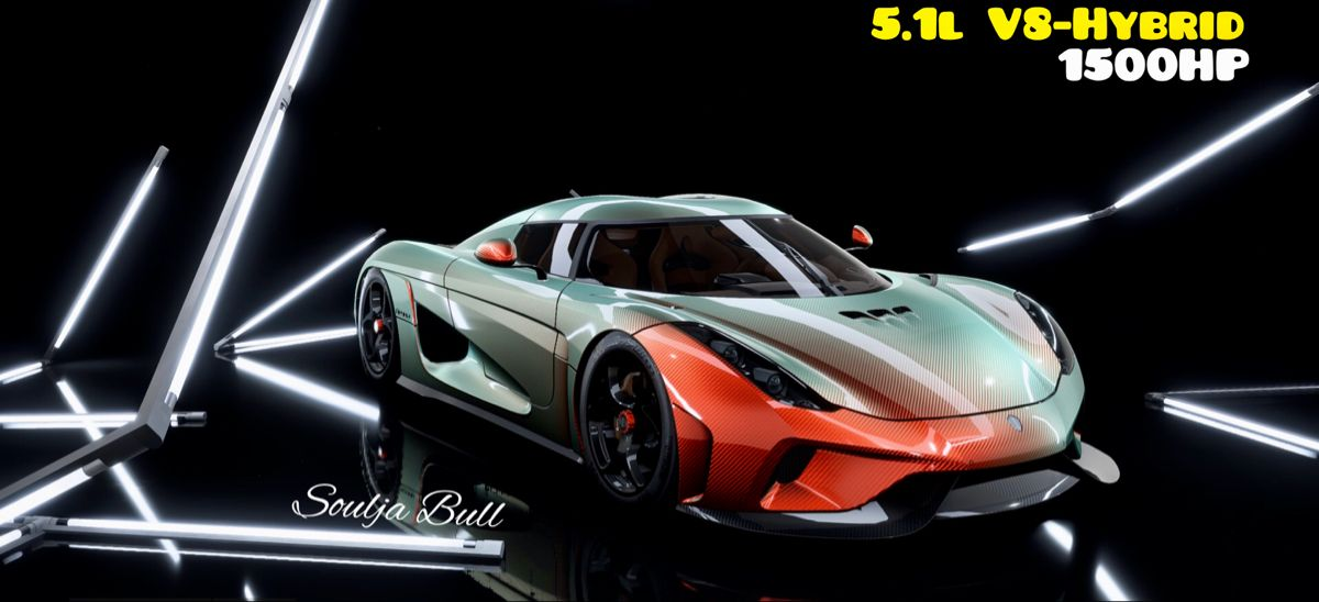 Need For Speed Heat Koenigsegg Regera 16 5 1l V8 Hybrid With 1500hp In 2020
