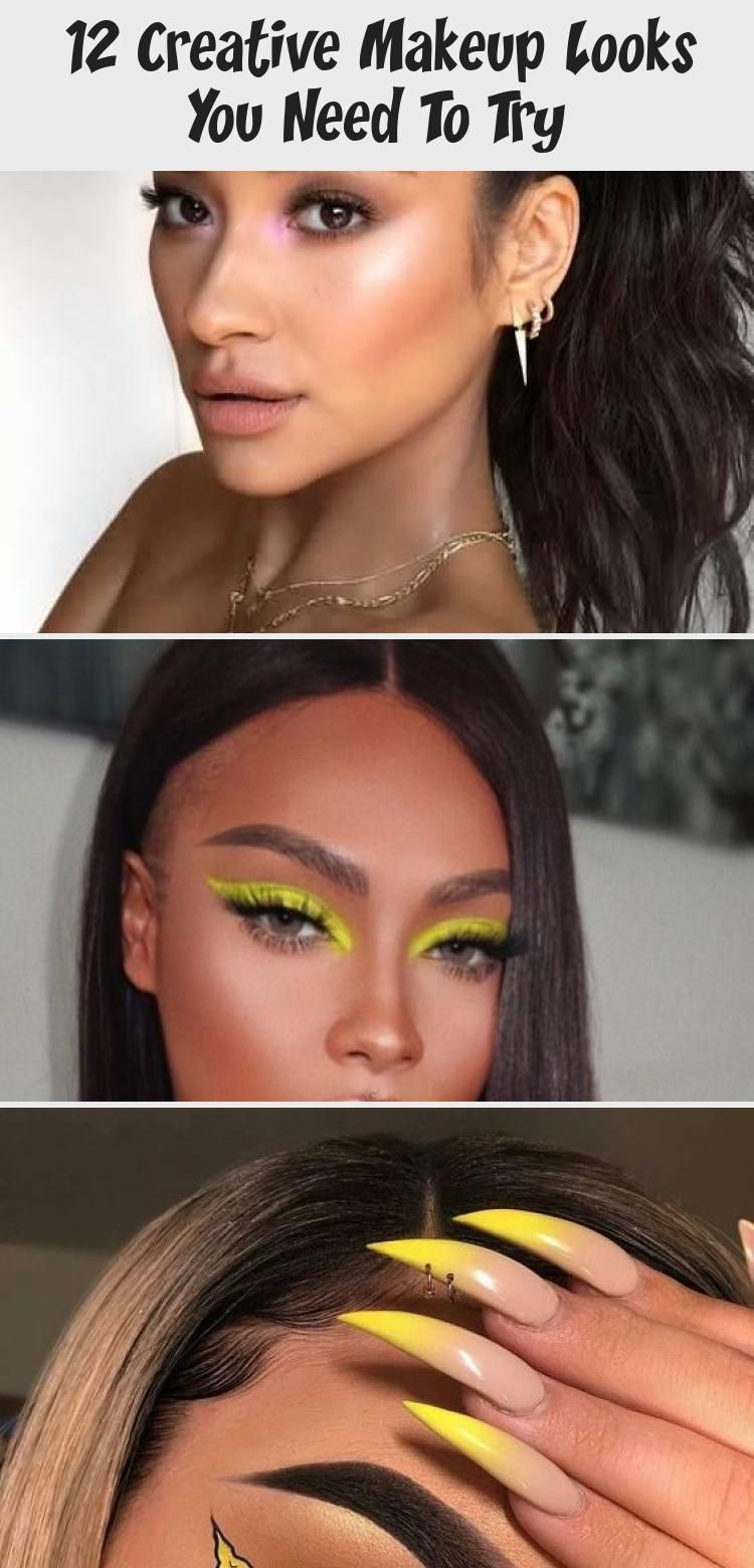 12 Creative Makeup Looks You Need To Try Society19 Makeupnoche