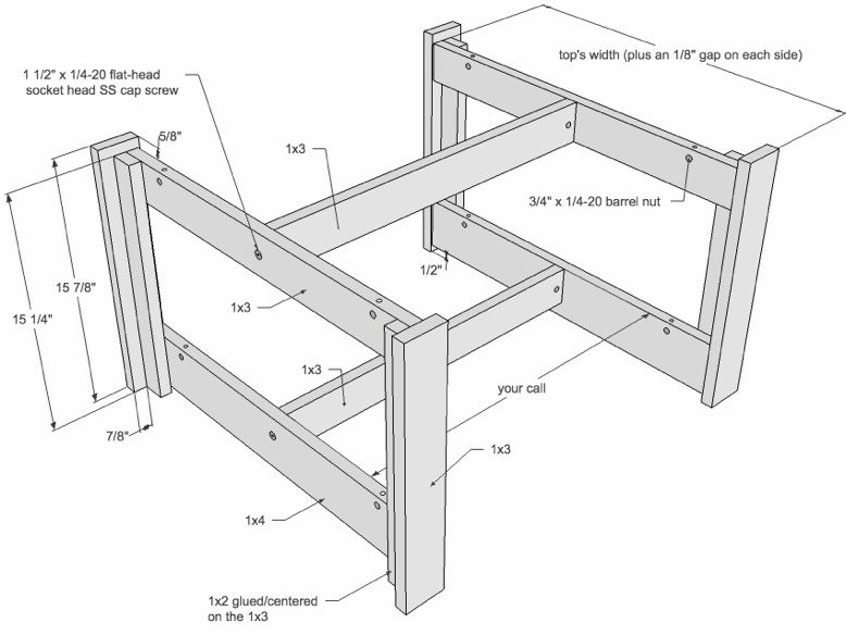 Coffee Table Plan Drawing Coffee Table Blueprints Coffee Table