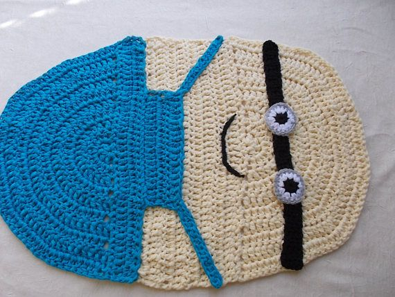 Minion Children Rug Handmade Rug Baby Bedroom Rug Children Kids Rugs Handmade Rug Childrens Rugs