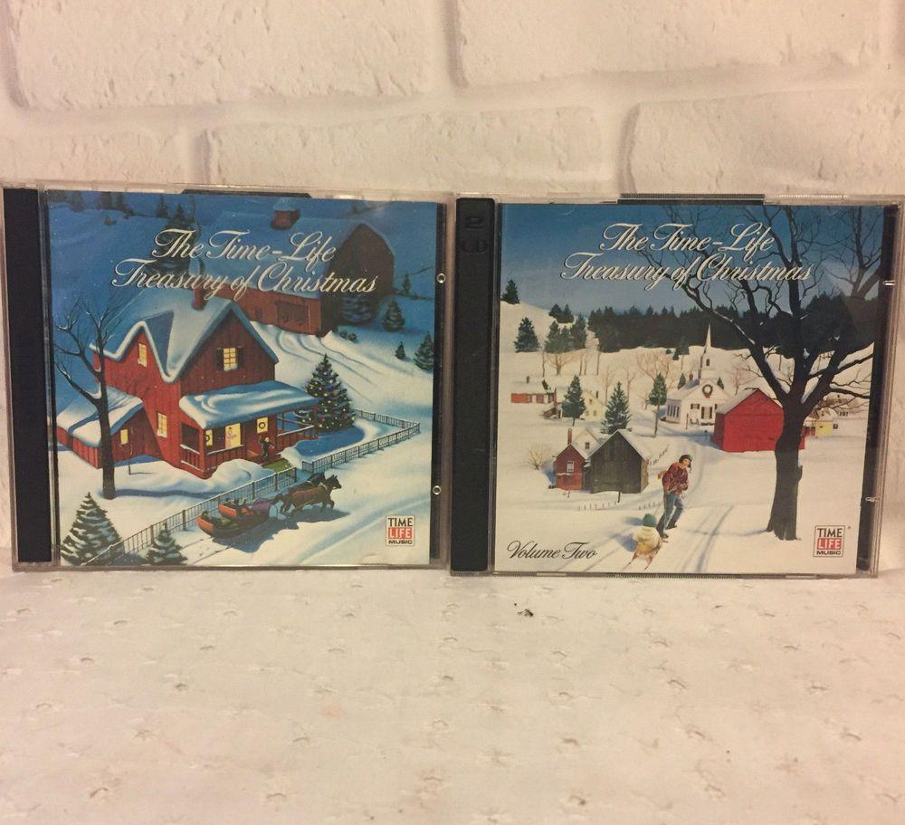 Time Life Treasury Of Christmas.Time Life Treasury Of Christmas Volume One Two 4 Cd Set