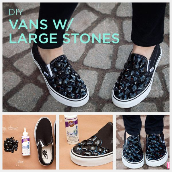 Shoe makeover, Diy sneakers