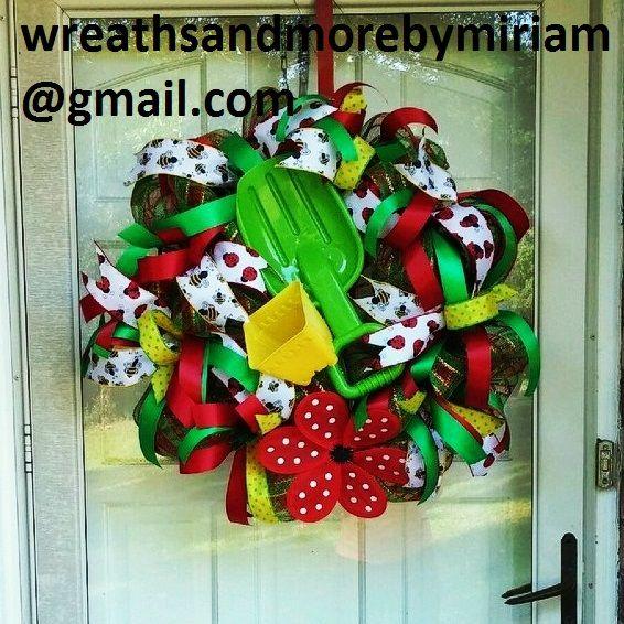Summer/Beach Fun wreath