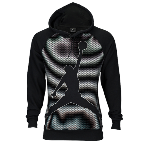 Jordan Flight Flash Jumpman Hoodie - Men's - Black / Silver