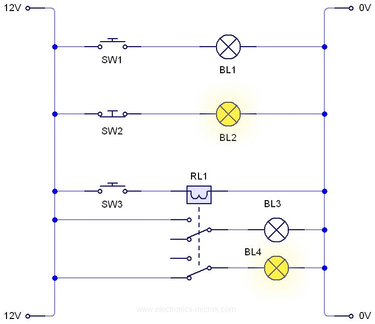 Famous 3 way switch ladder diagram gallery electrical circuit plclib arduino getting started with ladder logic electronics ccuart Images