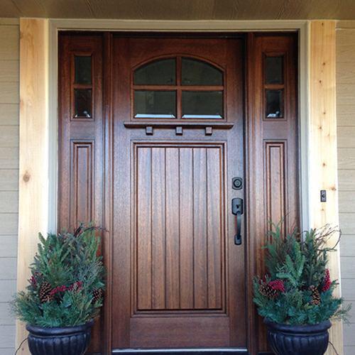 Htc400 1 Craftsman Exterior Door Exterior Doors With Glass Craftsman Exterior