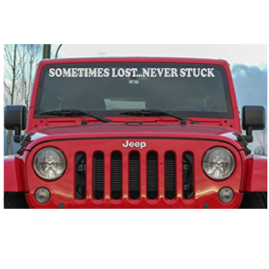 Windshield Decals Jeep Wrangler Mods Jeep Gear Jeep Wrangler