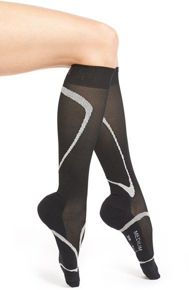 02765800f INSIGNIA by SIGVARIS  Performance  Graduated Compression Knee Socks ...