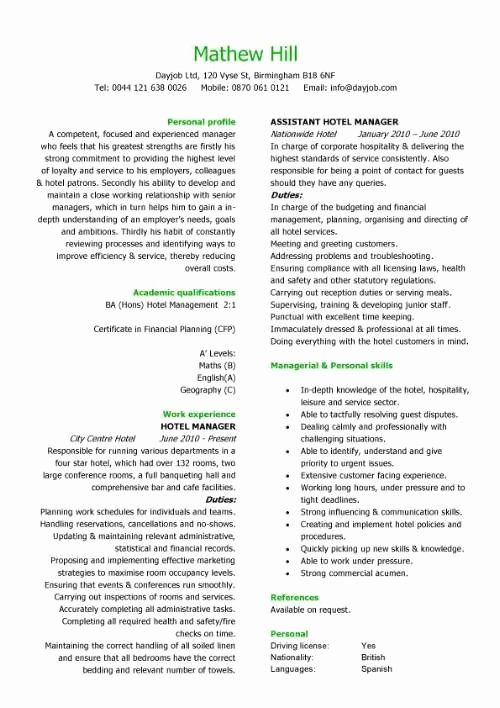 Front Desk Agent Resume Best Of Hospitality Cv Templates Hotel Receptionist Corporate Hospitality Cv Writing C In 2020 Cv Template Resume Template Free Resume Examples