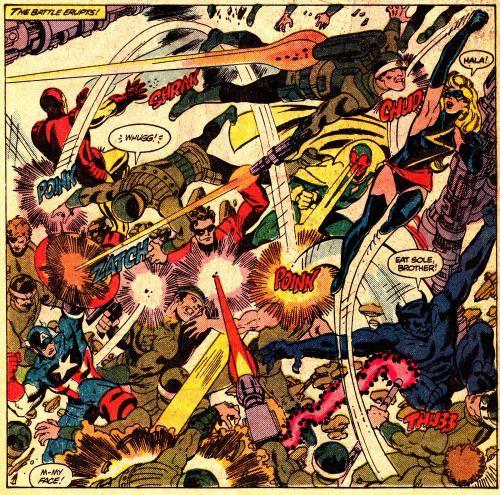 Thecomicsvault: THE AVENGERS #196 (June 1980)George Perez
