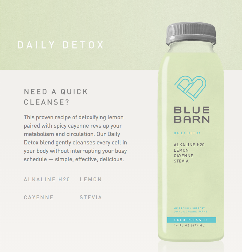 In need of a Daily Detox?