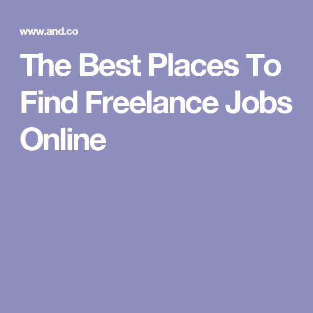 best place to find jobs online