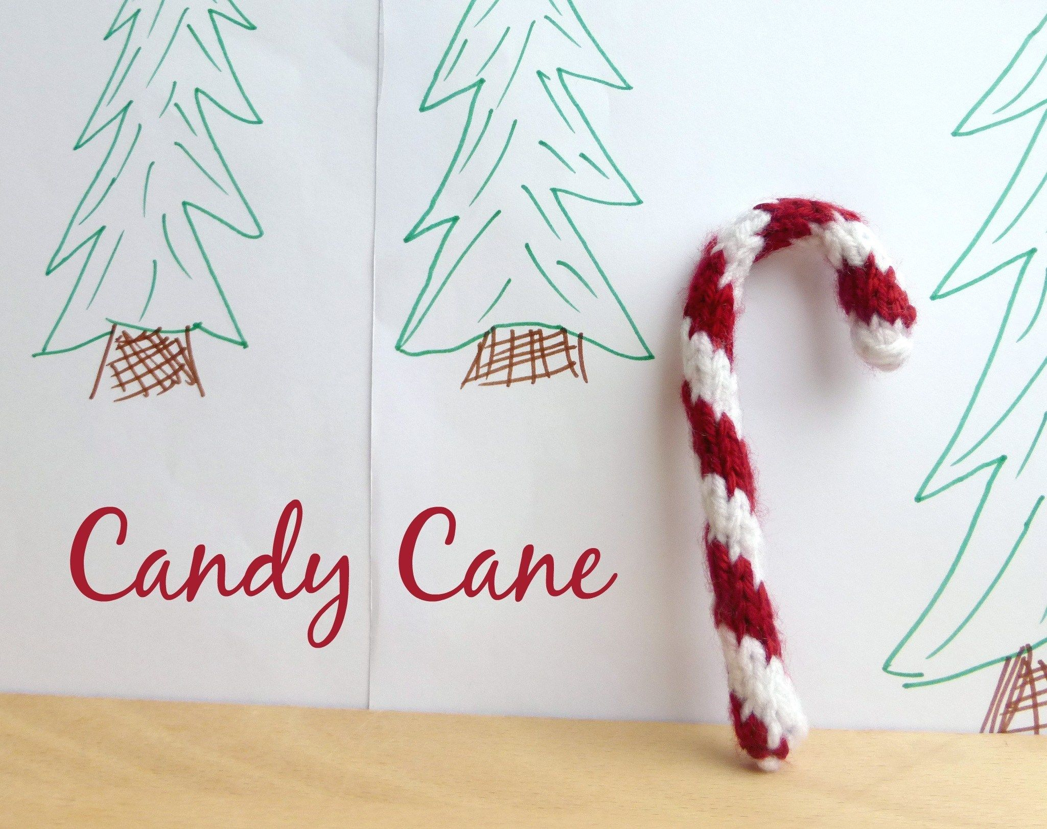 How To Knit A Candy Cane Free Pattern