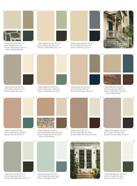 Behr fassadenfarbe farben schlicht interessant - Wandfarben arten ...