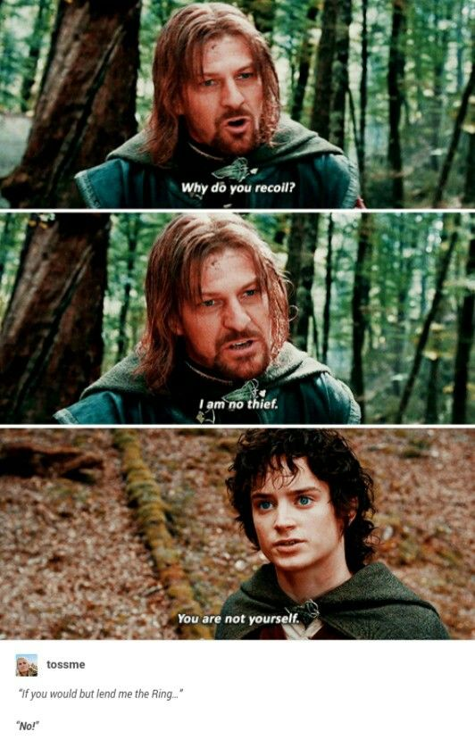 Boromir + Frodo (With images)   Lord of the rings, The ...