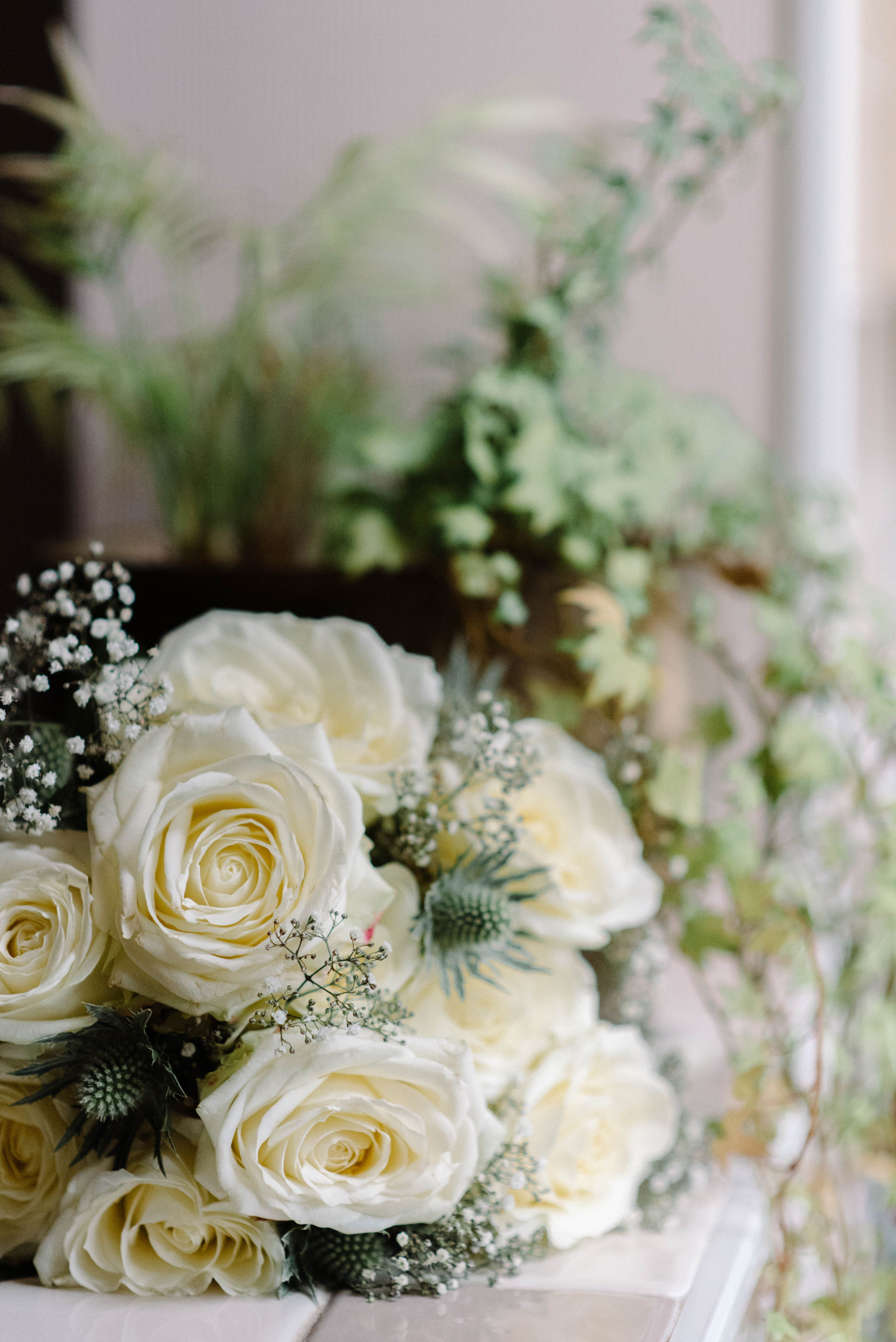 A touch of thistle in your wedding bouquet... 👌🏼 Wedding