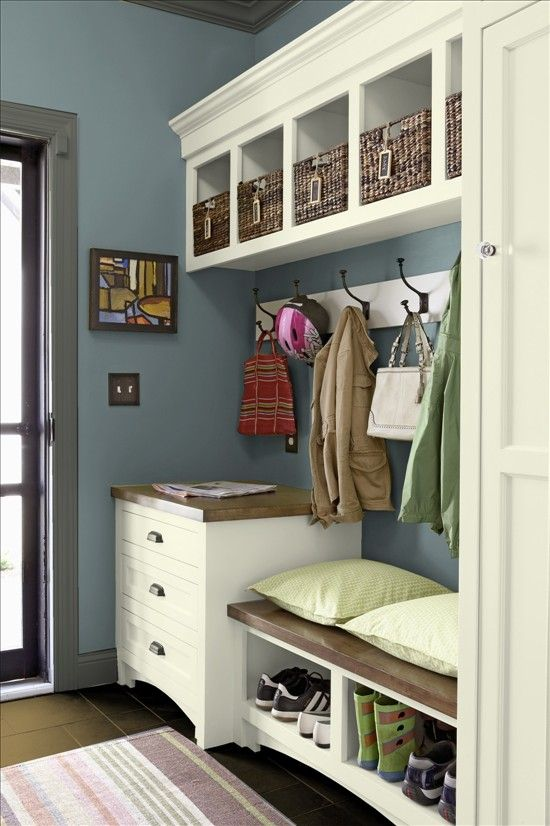 Mudroom Laundry Room Ideas Garage Entry Storage