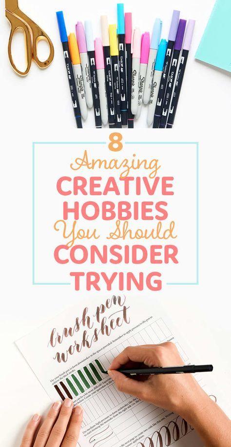 8 Creative Hobbies To Take Up In 2017   Creative hobbies