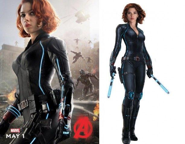Black Widow Ultron Promos Black Widow Costume Black Widow