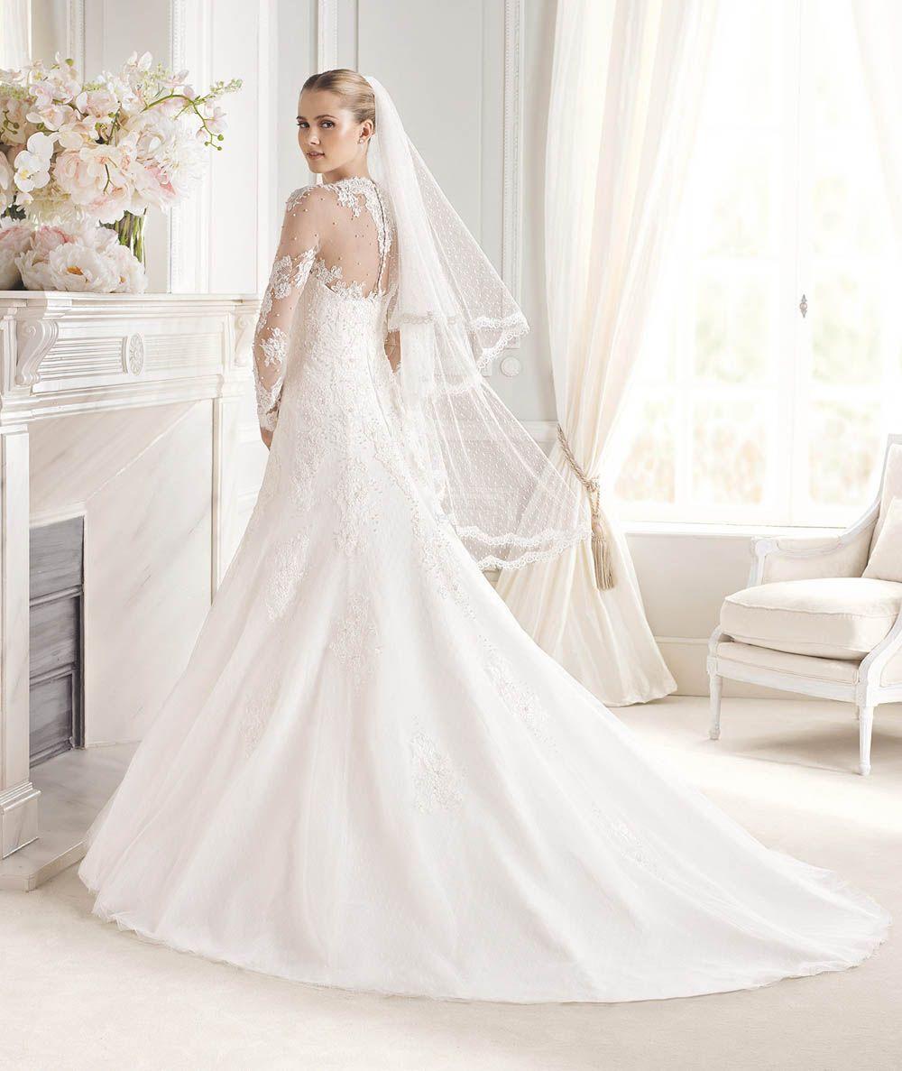 28bba6658fdb8 Wedding Dress, Uzun Kollu Gelinlik Modelleri | Joined together as ...