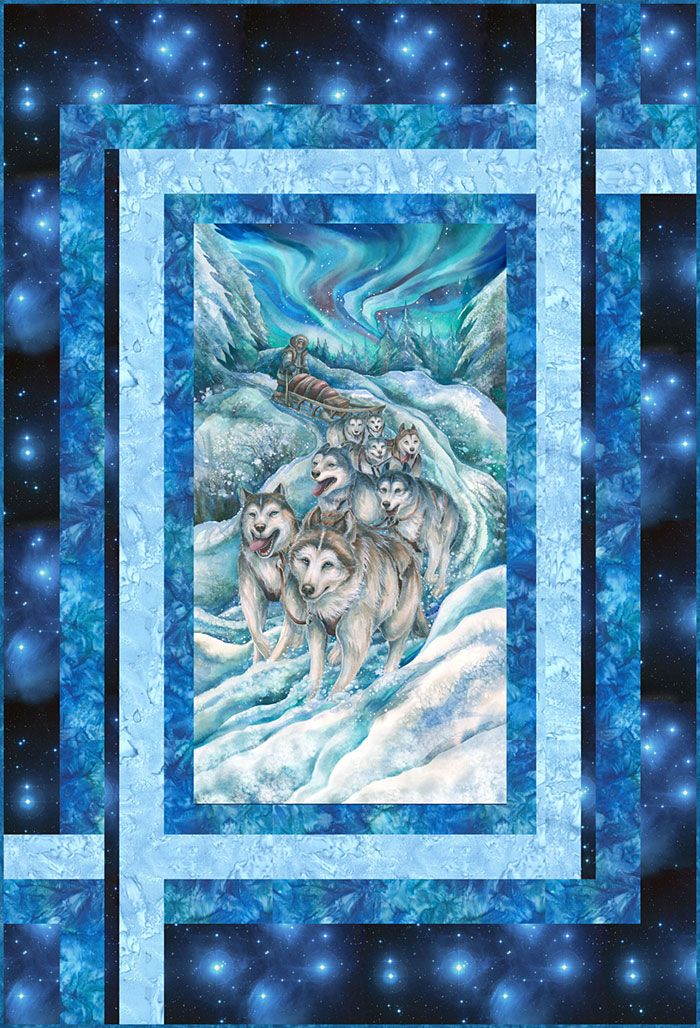Free Quilt Pattern Northern Sled Dogs Https Www