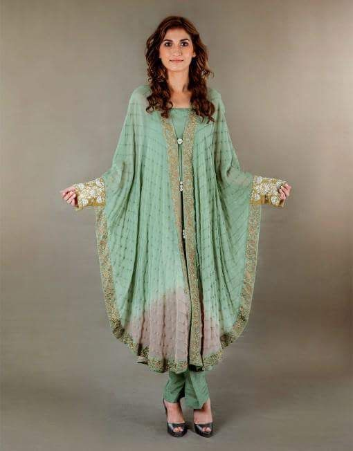 f9bce7cbf796 Pin by Majida Zahid on Pakistani cape dress pattern