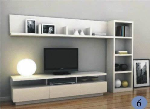37 awesome muebles para tv modernos images muebles para for Muebles bibliotecas para living