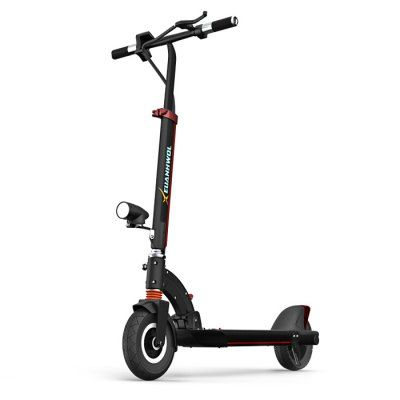 XEUANHWOL R7 Tough Aluminum Alloy 8 inch Dual Tires Folding Electric Scooter