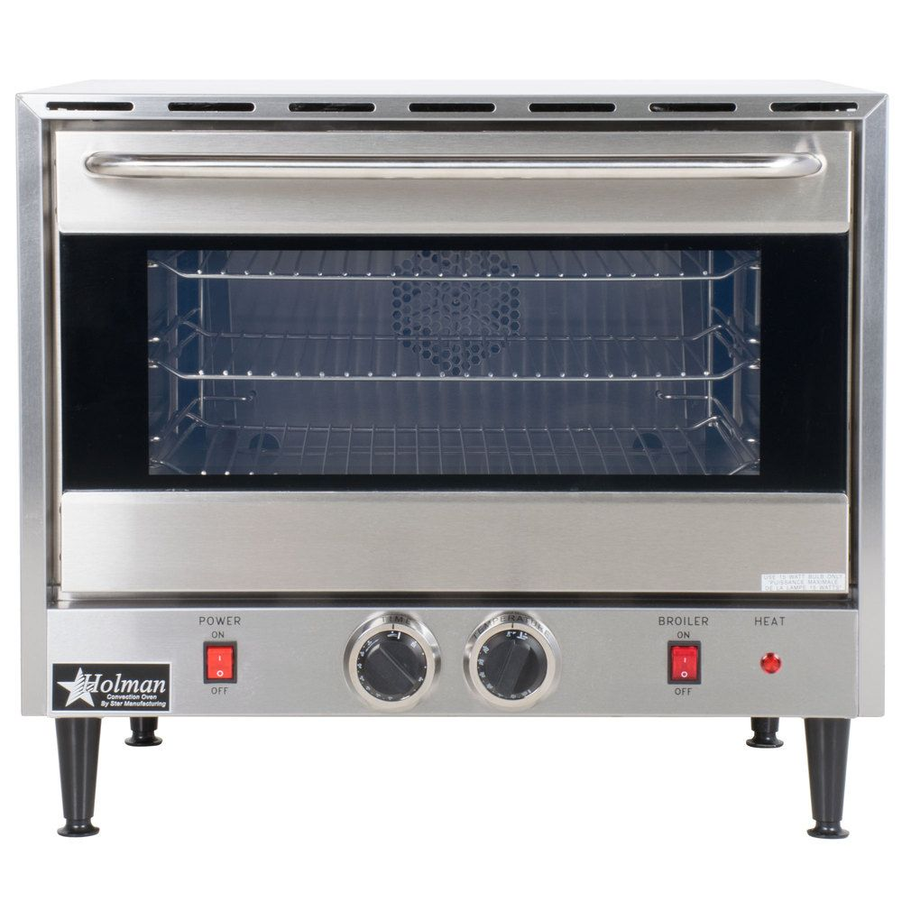 Star Ccoh 3 Electric Countertop Half Size Convection Oven 120v