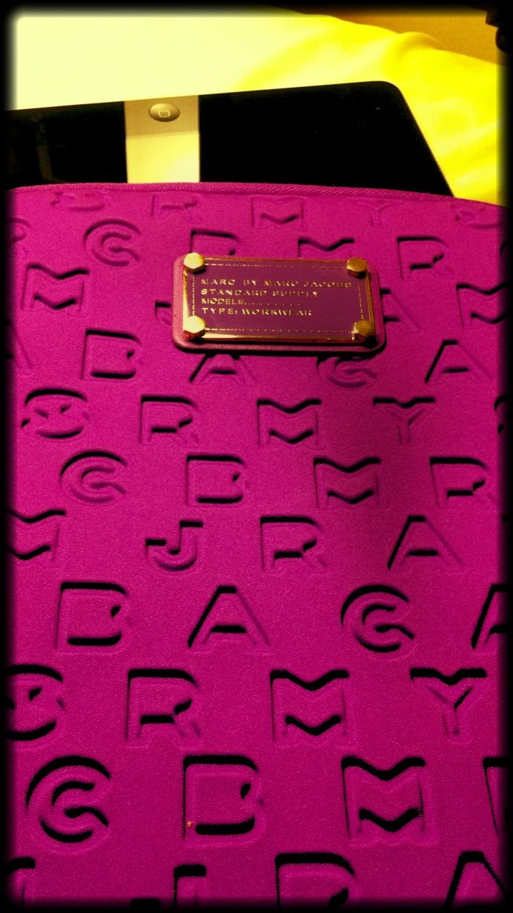 Marc by Marc Jacobs #iPad case...:) #purple #gold