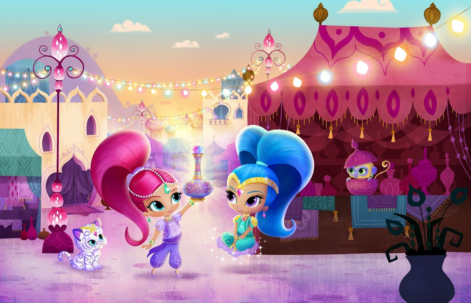 Best Shimmer And Shine Wallpaper (With images) Shimmer