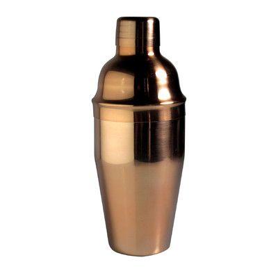 Luminarc Barcraft Copper Stainless Steel Shaker
