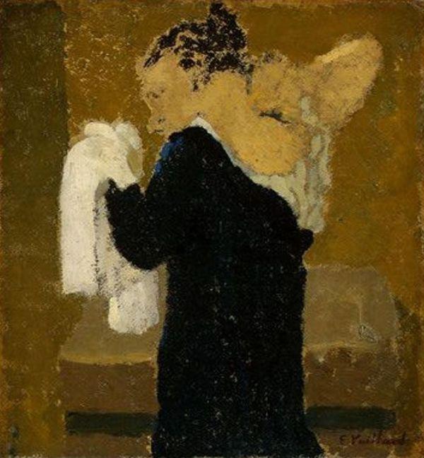 Édouard Vuillard - Femme à sa toilette (1891)