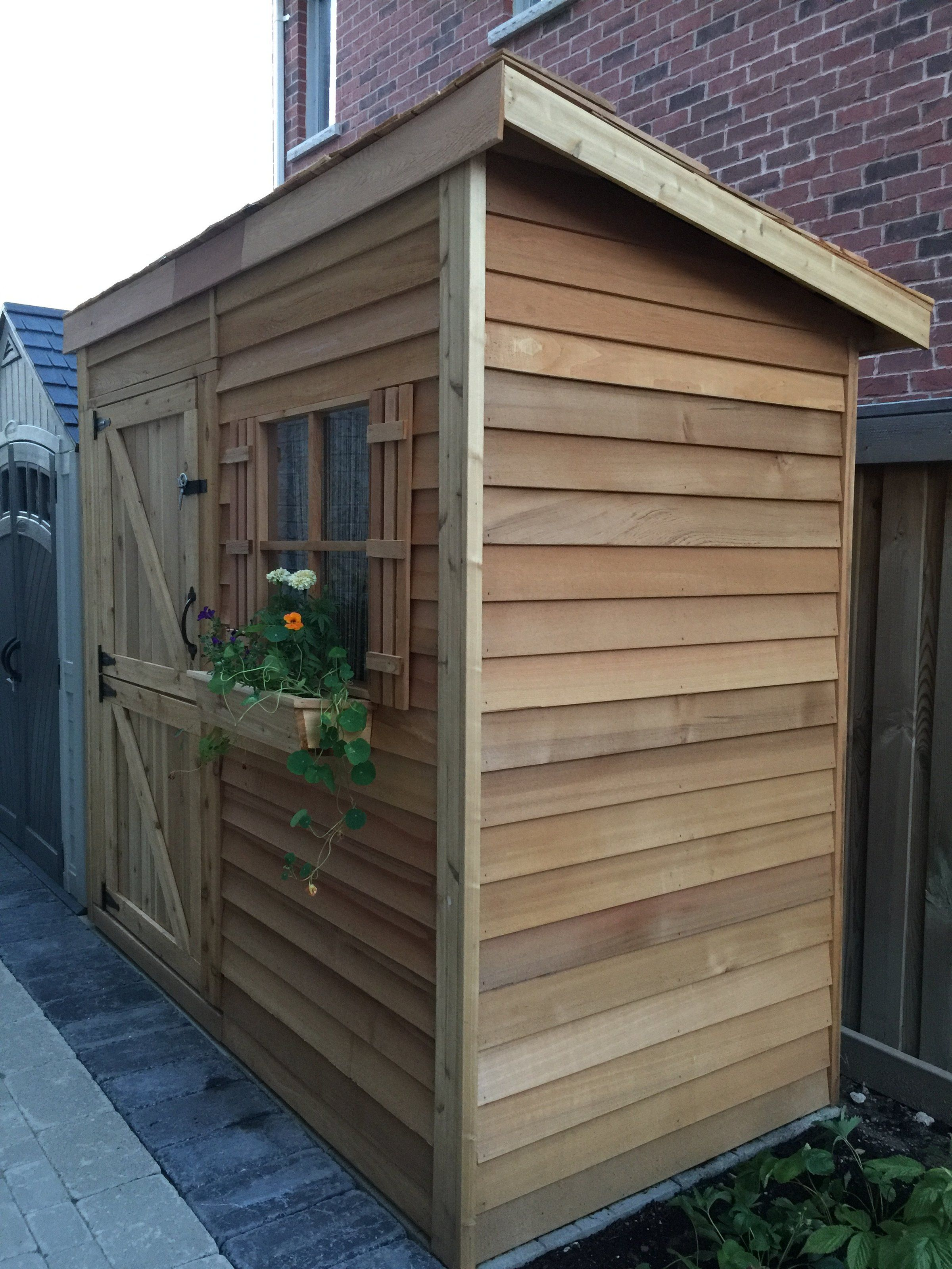 Bayside diy lean to storage sheds for sale shed