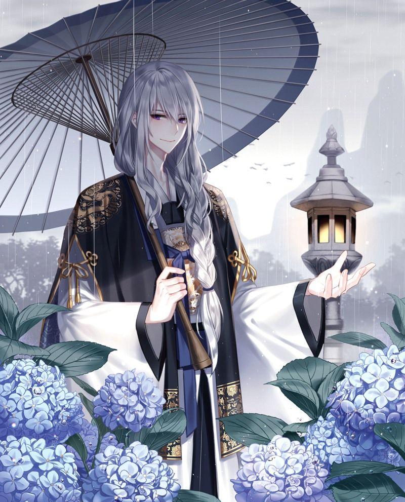 像女子般妖艳的二次元男生图片 Anime kimono, Handsome anime, Anime boy