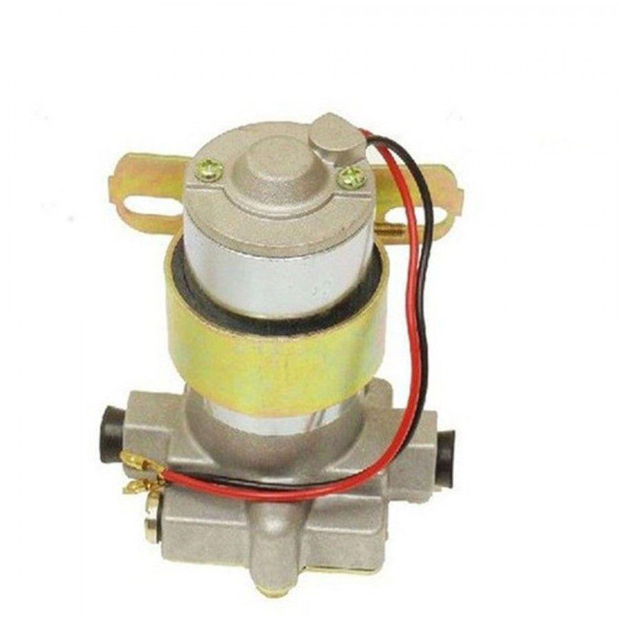 Street//Strip Electric Fuel Pump 115GPH Universal w// Red Regulator /& Gauge Kit