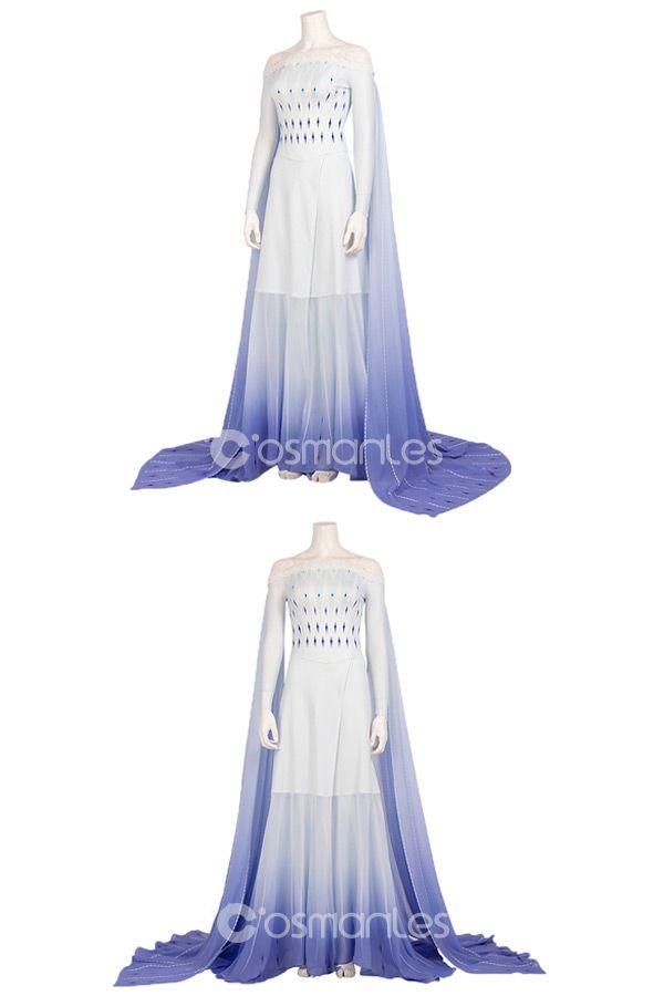 Frozen 2 Elsa Cosplay Costume Style C | Cosplay dress