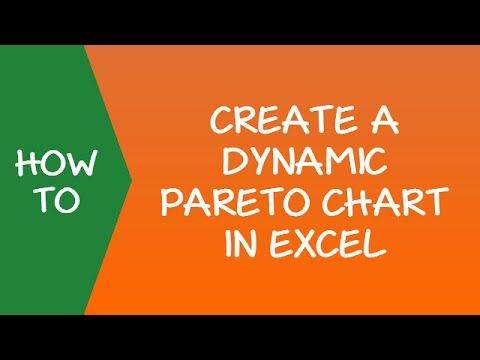 How to Make a Pareto Chart in Excel (Static \ Interactive) Tutorials - chart excel