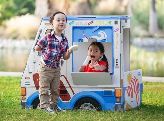 Even Kids Can Get In On The Booming Food Truck Business With Food Truck Playhouses