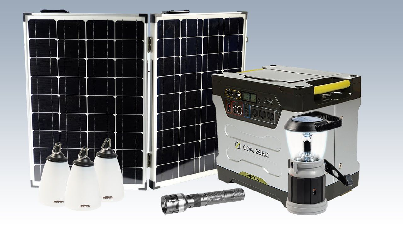 Goal Zero Yeti 1250 Off Grid System Review Off Grid System Grid System Off The Grid